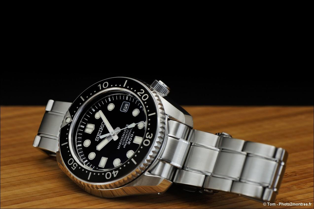 photo de montres seiko marine master